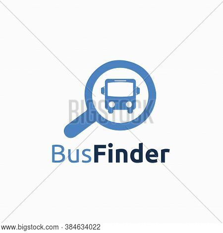 Bus Finder Logo Vector Templates, Vector, Vehicle
