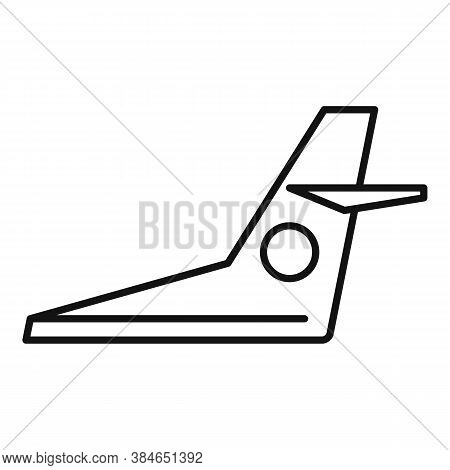 Aircraft Repair Fix Icon. Outline Aircraft Repair Fix Vector Icon For Web Design Isolated On White B