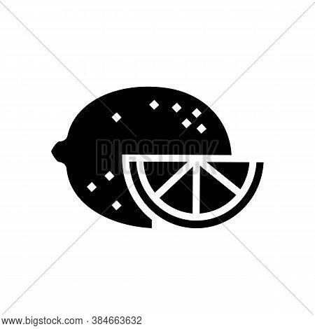 Citrus Aromatherapy Glyph Icon Vector. Citrus Aromatherapy Sign. Isolated Contour Symbol Black Illus