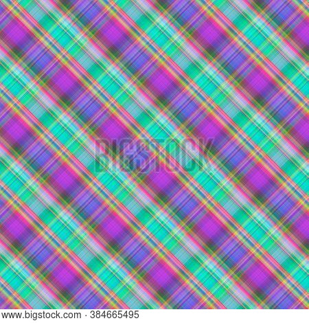 Plaid Pattern. Flannel Fabric Texture From Tartan, Plaid, Tablecloths, Shirts, Clothes, Dresses, Bed