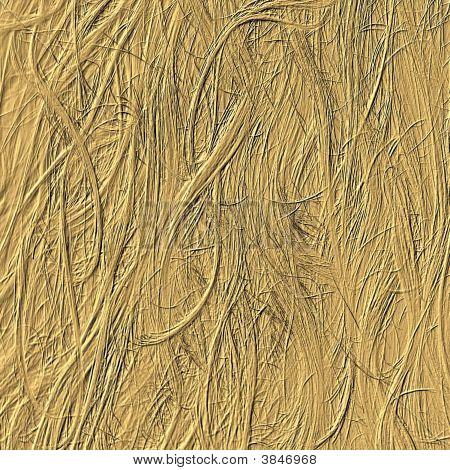 Golden Hair Emboss Background