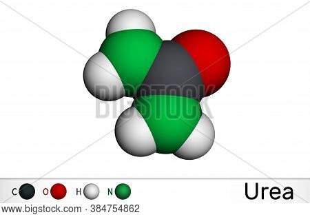 Urea, Carbamide Molecule. It Is A Nitrogenous Compound Containing A Carbonyl Group, Is Used As Ferti