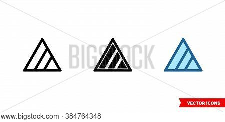 Non Chlorine Bleach If Needed Icon Of 3 Types Color, Black And White, Outline. Isolated Vector Sign