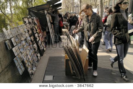 Paris Bookstalls