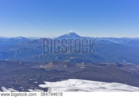 Pucon, Lanin Volcano, Patagonia, Chile, South America