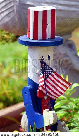 Uncle Sam Yard Art