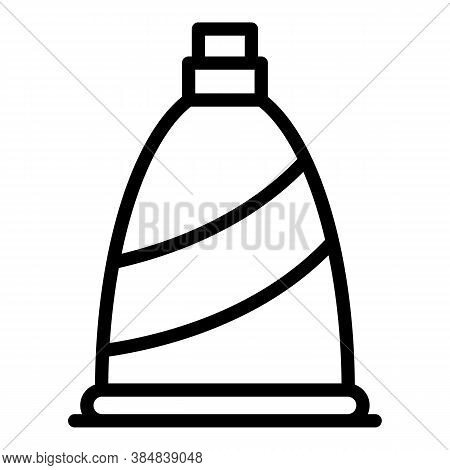 Greek Extra Virgin Oil Icon. Outline Greek Extra Virgin Oil Vector Icon For Web Design Isolated On W