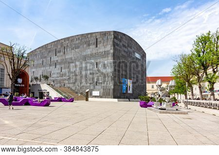 Mumok (museum Of Modern Art) Museum In Vienna, Austria - April 2019
