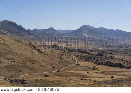 Plateau Of The Campos De Hernan Perea In The Natural Park Of The Sierras De Cazorla, Segura And Las