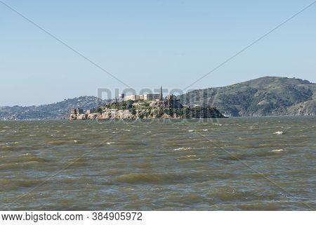 Alcatraz Island Is Located In San Francisco Bay, 1.25 Miles Offshore From San Francisco, California,