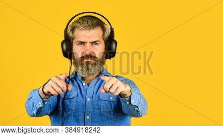 Excellent Music Playlist. Rhythm Concept. Noise Cancellation Function. Professional Gadget. Music Be