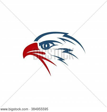 Eagle Head Vector. Eagle Icon. Eagle Bird Vector. Eagle Illustration. Falcon Logo. Falcon Bird Vecto