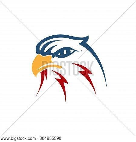 Eagle Head Vector. Eagle Icon. Eagle Bird. Eagle Illustration. Falcon Logo. Falcon Bird Vector. Hawk