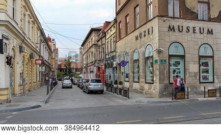 Sarajevo, Bosnia And Herzegovina - July 3rd 2018:museum Of Sarajevo (muzej), The Site Of Franz Ferdi