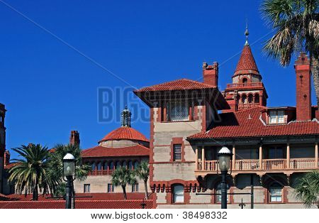Beautiful Flagler college located in historic St Augustine Florida