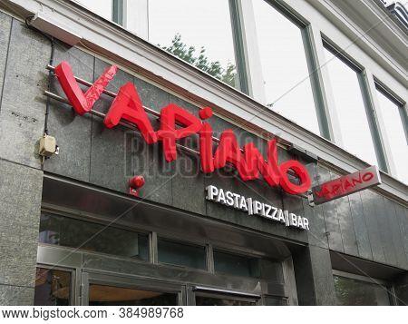Goteburg, Sweden - Circa August 2017: Vapiano Pasta Pizza Bar Logo