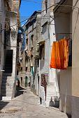 Rodi Garganico a small picturesque village in Apulia Italy poster