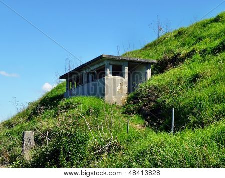 Historic military observation post on Auckland's North Head
