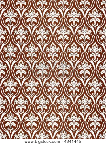 Brown Seamless A Pattern. Vector Illustration