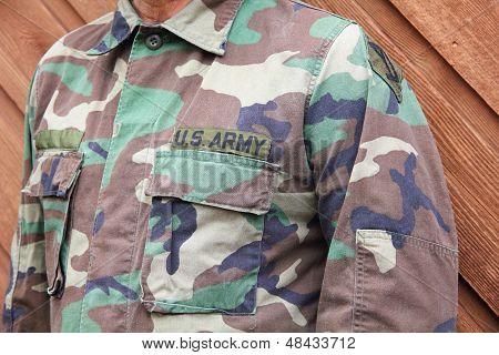 US Armee-Soldat-Uniform