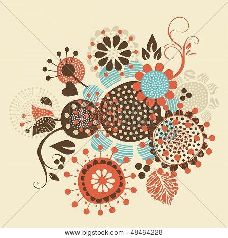 Floral Decorative Bouquet