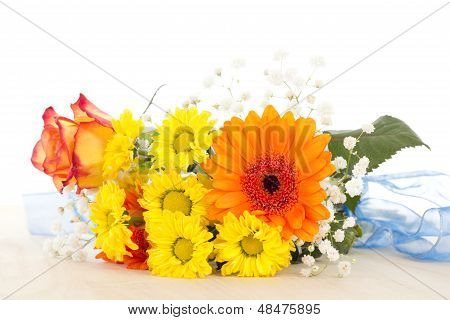 Beautiful Bunch Of Flowers For Mother's Day