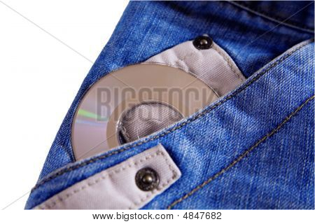 Compact Disk With Jeans