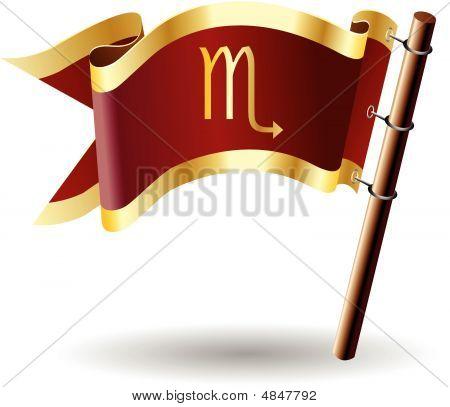 Royal-flag-astrology-sign-scorpio