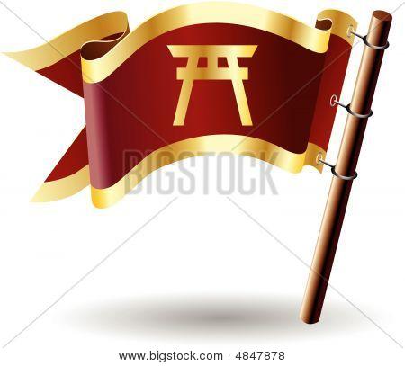 Royal-flag-faith-shinto