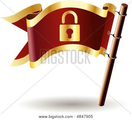 Royal-flag-lock-secure-safe