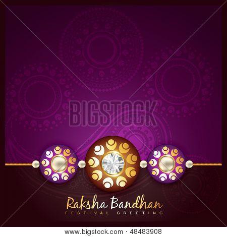 beautiful indian hindu festival of rakshabandhan