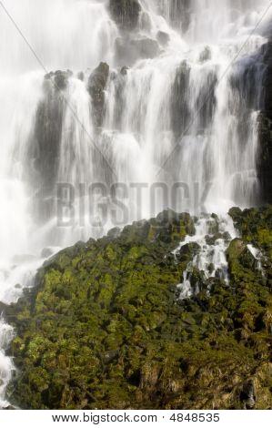 Waterfall At Thousand Springs, Idaho - More In Portfolio