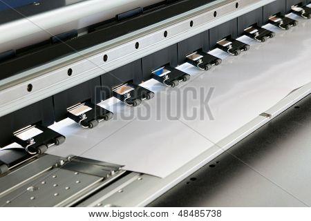 Tintenstrahl-Drucker Detail