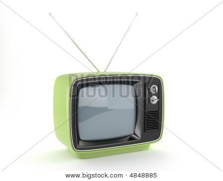 Green Retro Tv
