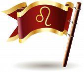 Royal-flag-astrology-sign-leo
