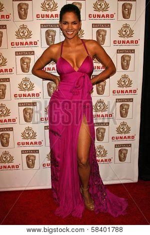 LOS ANGELES - NOVEMBER 2: Halle Berry at the 2005 BAFTA/LA Cunard Britannia Awards at Hyatt Regency Century Plaza Hotel on November 2, 2006 in Century City, CA.