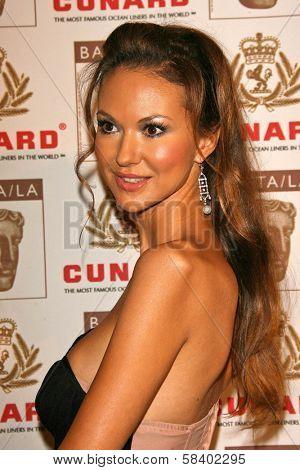 LOS ANGELES - NOVEMBER 2: Svetlana Metkina at the 2005 BAFTA/LA Cunard Britannia Awards at Hyatt Regency Century Plaza Hotel on November 2, 2006 in Century City, CA.