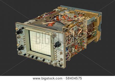 Old Oscilloscope.