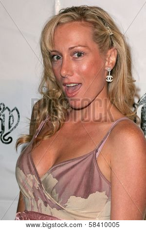 HOLLYWOOD - OCTOBER 21: Melissa Mojo Hunter at the