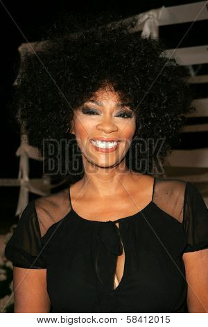 BEL AIR - OCTOBER 27: Jody Watley at the H And M Celebration of the Viktor And Rolf Collection on October 27, 2006 at Private Residence, Bel Air, CA.