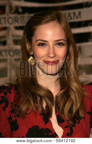 BEL AIR - OCTOBER 27: Jaime Ray Newman at the H And M Celebration of the Viktor And Rolf Collection on October 27, 2006 at Private Residence, Bel Air, CA.