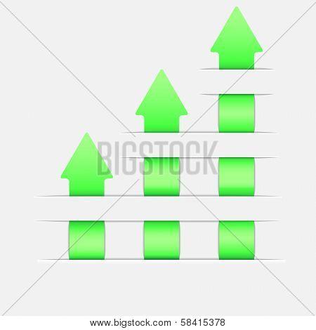 Graph Up Arrow
