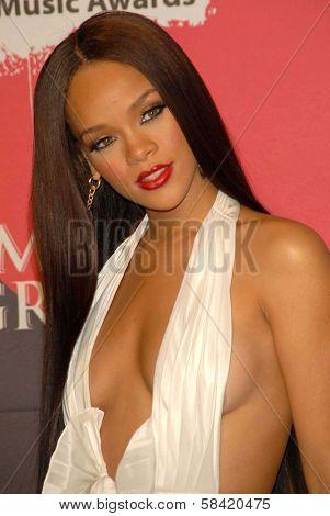 LAS VEGAS - DECEMBER 04: Rihanna in the press room at the 2006 Billboard Music Awards, MGM Grand Hotel December 04, 2006 in Las Vegas, NV