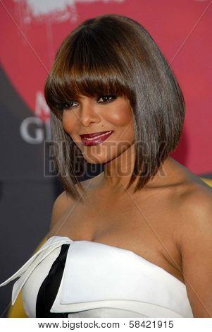 LAS VEGAS - DECEMBER 04: Janet Jackson arriving at the 2006 Billboard Music Awards, MGM Grand Hotel December 04, 2006 in Las Vegas, NV