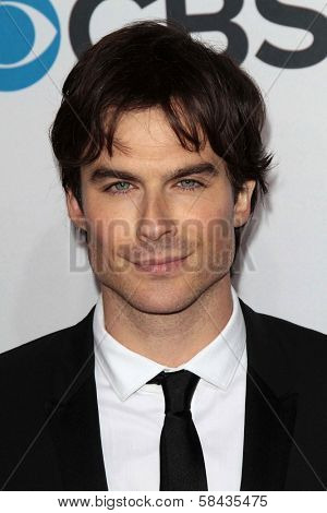Ian Somerhalder at the 2013 People's Choice Awards Arrivals, Nokia Theater, Los Angeles, CA 01-09-13