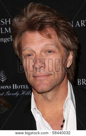 Jon Bon Jovi at the BAFTA Los Angeles 2013 Awards Season Tea Party, Four Seasons Hotel, Los Angeles, CA 01-12-13
