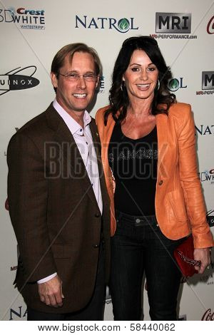 Bart Conner, Nadia Comaneci  at the Gold Meets Golden Event, Equinox West LA, Los Angeles, CA 01-12-13