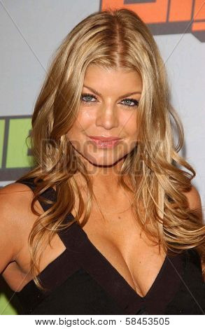 CULVER CITY, CA - DECEMBER 02: Fergie at the VH1 Big in '06 Awards on December 02, 2006 at Sony Studios, Culver City, CA.