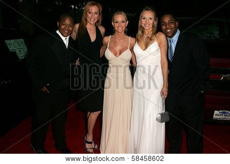 Kyle Massey, Lesa Amoore, Katie Lohmann, Alana Curry and Christopher Massey at the 11th Annual Multicultural Prism Awards. Sheraton Universal Hotel, Universal City, California. December 10, 2006.