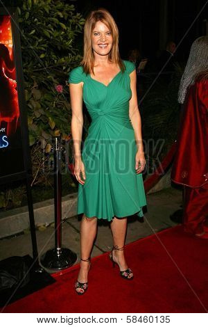 Michelle Stafford at the premiere of